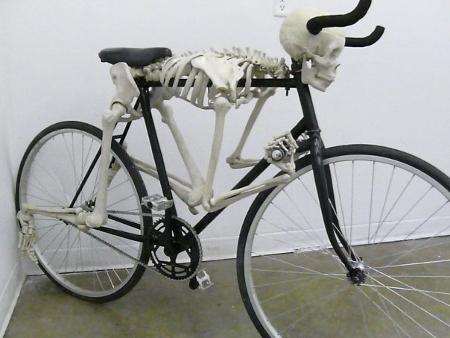 bicicleta esqueleto