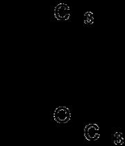 estructura molecular de la Geosmina