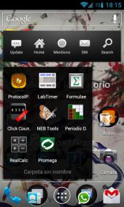 Captura de pantalla de escritorio de mi Android