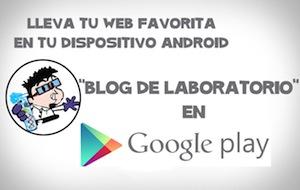 Aplicación para Android de Blog de laboratorio