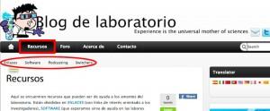 Recursos en el Blog de laboratorio