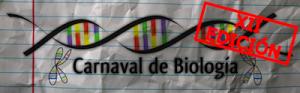 Logo del duodécimo carnaval de biología