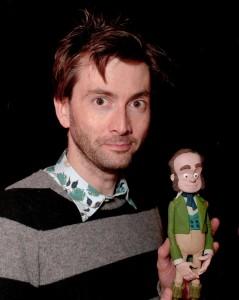 David Tennant como Charles Darwin. Pulsar para agrandar.