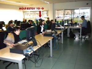 Imagen de uno de los días del curso.