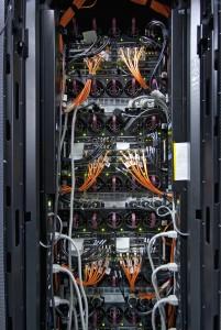 Imagen de la parte interior de uno de los clústeres de cálculo de Caléndula. Pulsar para ampliar.