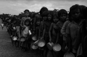 Inanición en Camboya
